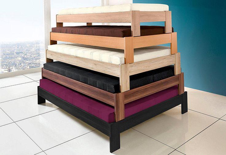 Futonbett, in 4 verschiedenen Ausführungen ab 99,99€. In 6 Farben und 5 Breiten, Wahlweise mit und ohne Matratze, Pflegeleichte Kunststoffoberfläche bei OTTO
