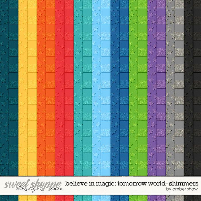 Believe in Magic: Tomorrow World Shimmers by Amber Shaw