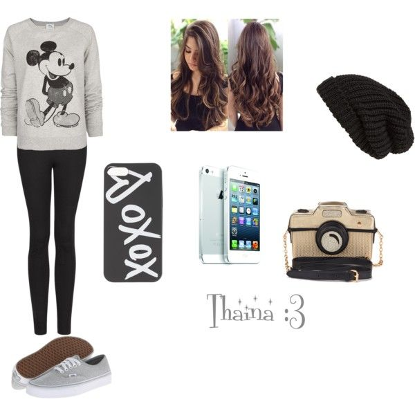 """""""Thainá :3"""" by thatinhatommo on Polyvore"""