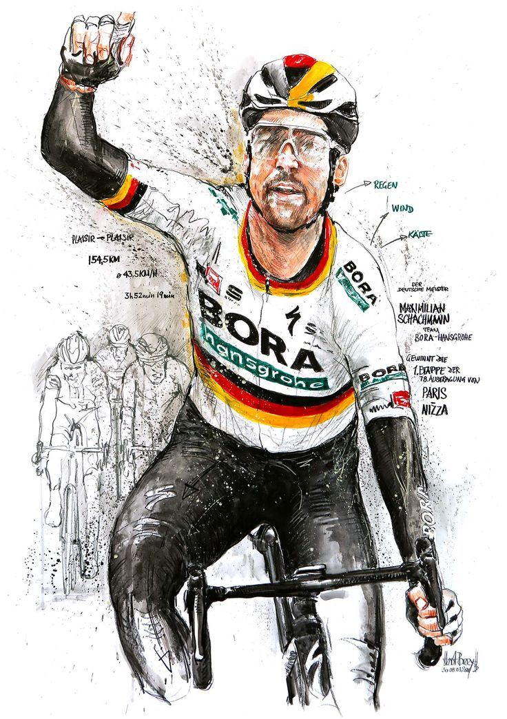 Pin by LOLAMART on ROAD CYCLING in 2020 Cycling art