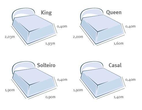 tamanho cama super king - Pesquisa Google