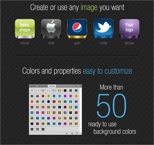 5000+ Photo Realistic iOS Icons | Graphic Template Designs