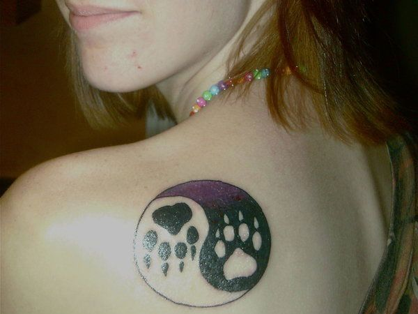 Wolf Paw Print Tattoo | Wolf Paw Tattoo Pictures to Pin on Pinterest