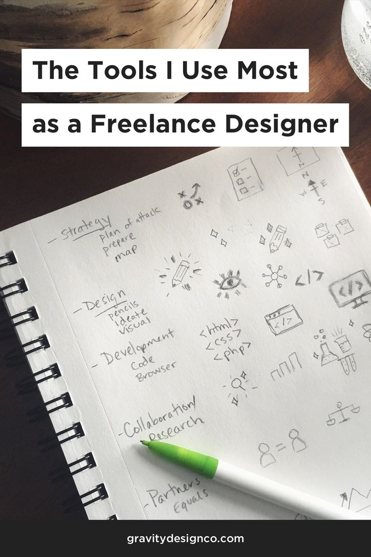 The Tools I Use Most as a Freelance Designer - Gravity Design Co