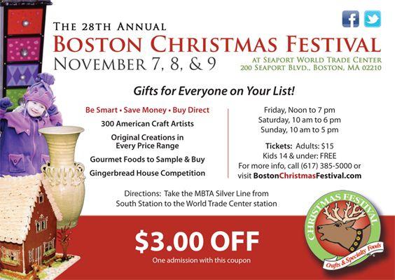 Christmas Craft Shows Boston Area
