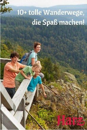 Wandern mit Kindern im Harz - wir stellen euch spannende Wanderwege für die ganze Familie vor!