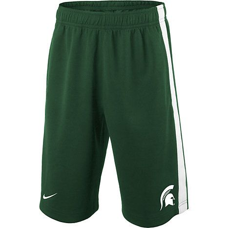 MSU Bookstore - XS shorts - really ANYTHING MSU and he will love it.  He loves these types of shorts and t-shirts (size 5)