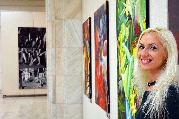 "Painting exhibition ""Feminine art""  by Oana Unciuleanu #abstract #acrylic #art #fantasy #artist #artwork #color #creative #fineart #illustration #myart #onlineart #paint #painting #paintings #wallart #watercolor #artsy #composition #amazing #beautiful #picture #cool #fun #feelingartsy #visualdiary #masterpiece #gallery #inspiration #newartwork #femaleartist"