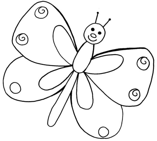 printable eric carle butterfly coloring pages | Eric Carle Butterfly Coloring Coloring Pages