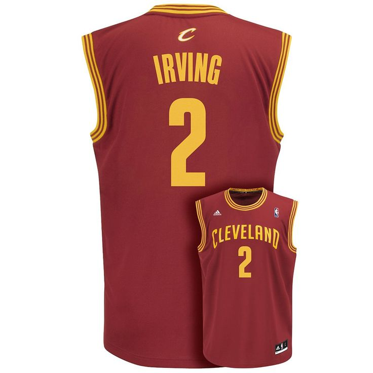 Men's Adidas Cleveland Cavaliers Kyrie Irving NBA Jersey, Size: XXL, Red