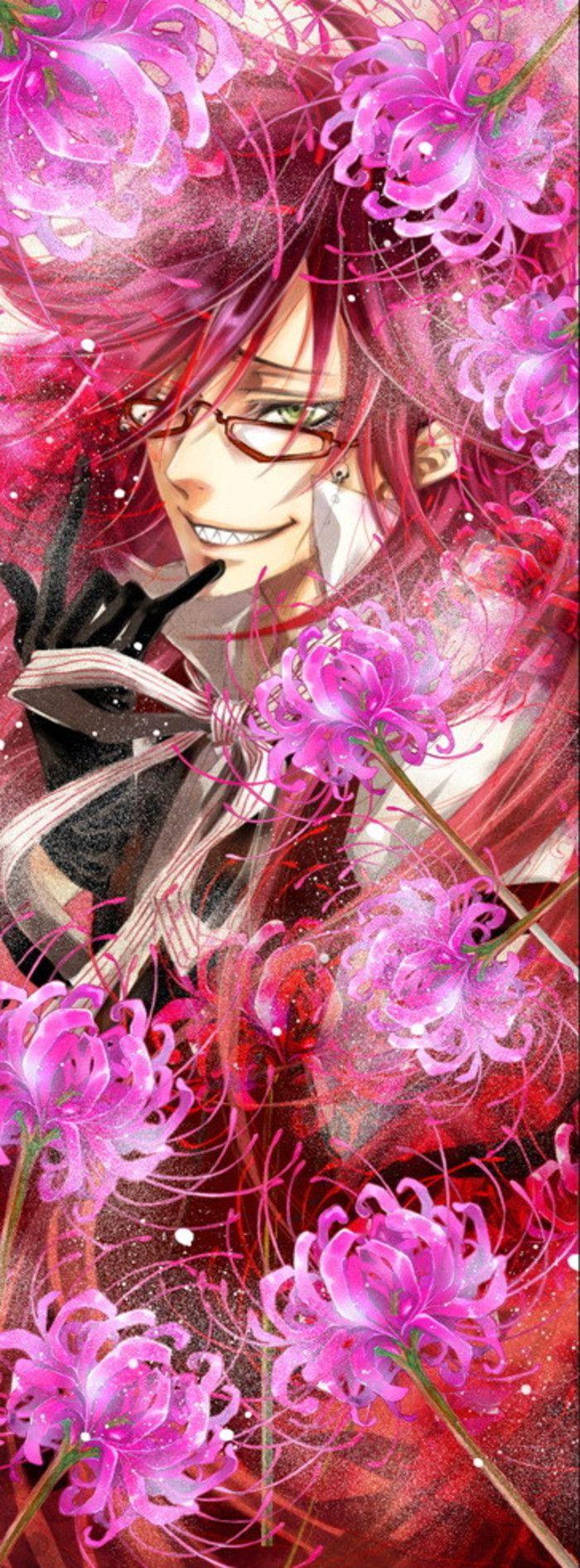 黑执事 死神 Grell Sutcliff - Black Butler/Kuroshitsuji and my lovely Spider Lily
