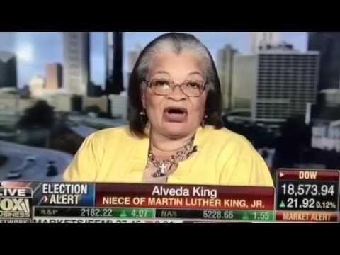 Dr. Martin Luther King's niece Alveda King endorses Donald Trump & his p...
