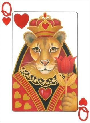 Lion Queen of Hearts  ~*~ Stephanie Stouffer