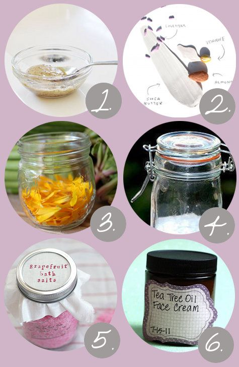 Natural DIY Bath and Beauty Recipes for Skin, Lips, Hair and Teeth - How to Make Your Own Homemade Bath and Body Products