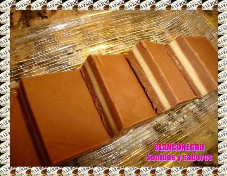 Marroc casero! (bombón argentino de chocolate y pasta de maní)