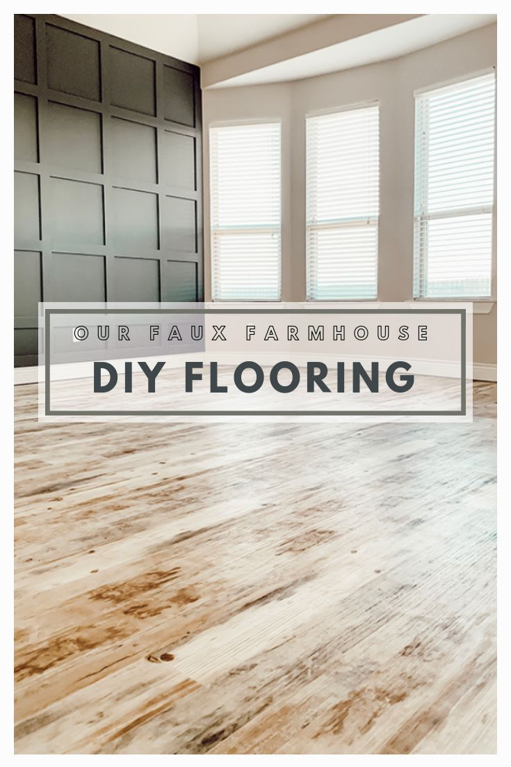 Faux Farmhouse Flooring Makeover With Lifeproof Sheet Vinyl Bedroom Flooring Farmhouse Flooring Farmhouse Master Bedroom