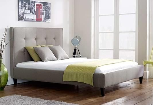 Shop Wexler Upholstered Bed online available in Queen Size. The grey fabric bed would make the luxe appearance in the room with its alluring design. Buy upholstered beds online from modern range in #Bangalore #Pune #Secunderabad