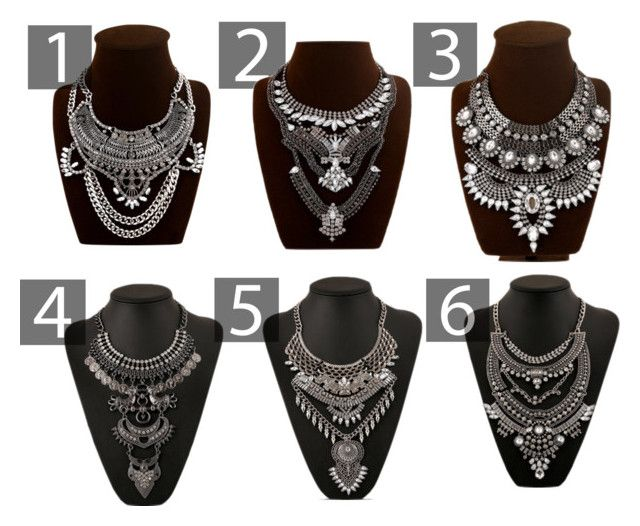 ALIEXPRESS STATEMENT NECKLACES by thefashionnouveau on Polyvore featuring moda