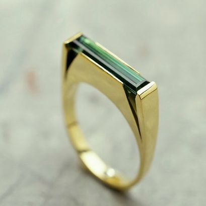 Men's Ring Designed by Pascale Masselis In silver