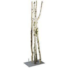 Birkenstamm 3 m lang, 10 cm Ø