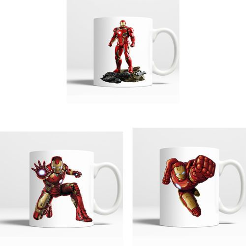 Novelty-Coffee-Mug-Iron-Man-Cartoon-11-OZ-Coffee-Birthday-Handmade-Gift