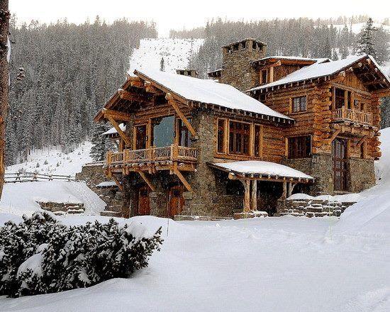 What a cozy dream cabin!