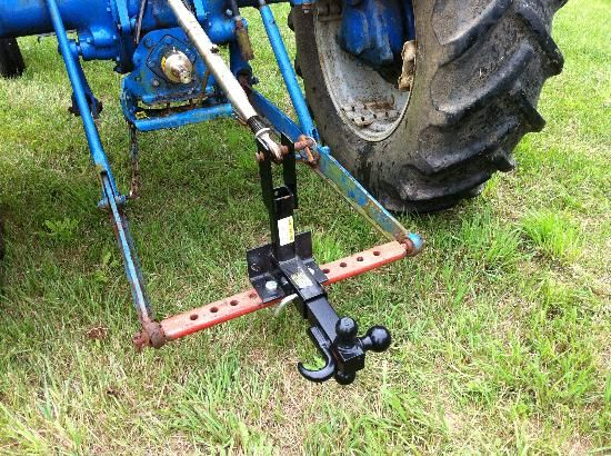 3 Point Tractor Broke : Homemade point hitch for truck ftempo