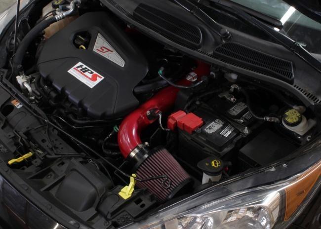 Hps Short Ram Intake Ford Fiesta St 2014 2015 Polished Black