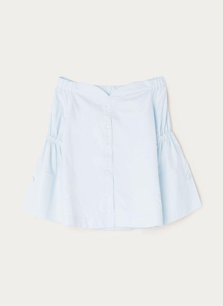 Camisa popelín hombro visto - Camisas y blusas - Ropa - Uterqüe España