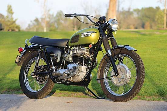 Triumph Classic Motorcycles' Street Tracker and Super Moto - Classic British Motorcycles - Motorcycle Classics