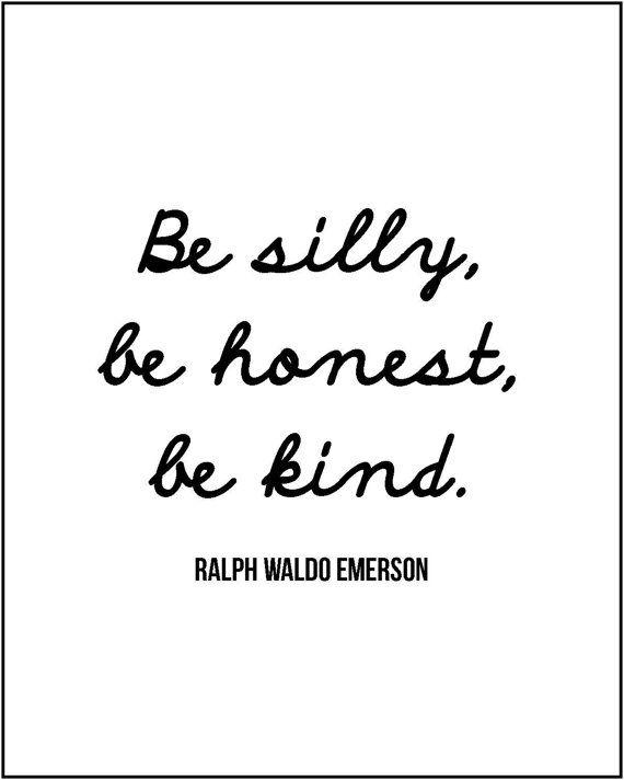 Ralph Waldo Emerson quote minimalist by JenniferDareDesigns