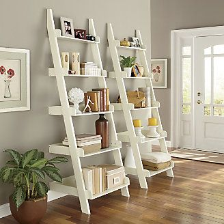 Ladder Shelf from Through the Country Door® - book, photo, vase, decor for living room
