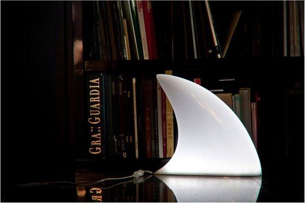 The Scary Shark Lamp by Aleksander Mukomelov