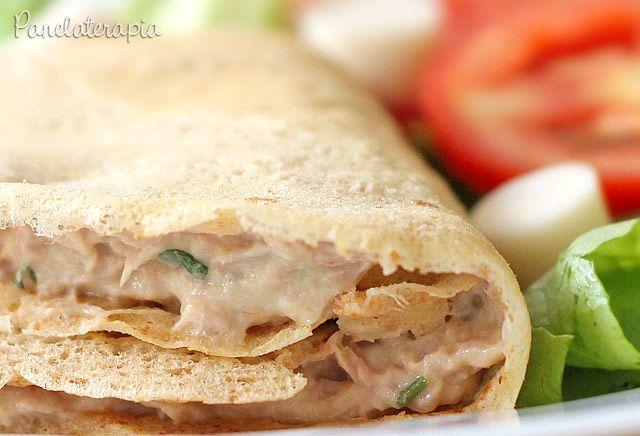 PANELATERAPIA - Blog de Culinária, Gastronomia e Receitas: Crepe Integral de Atum