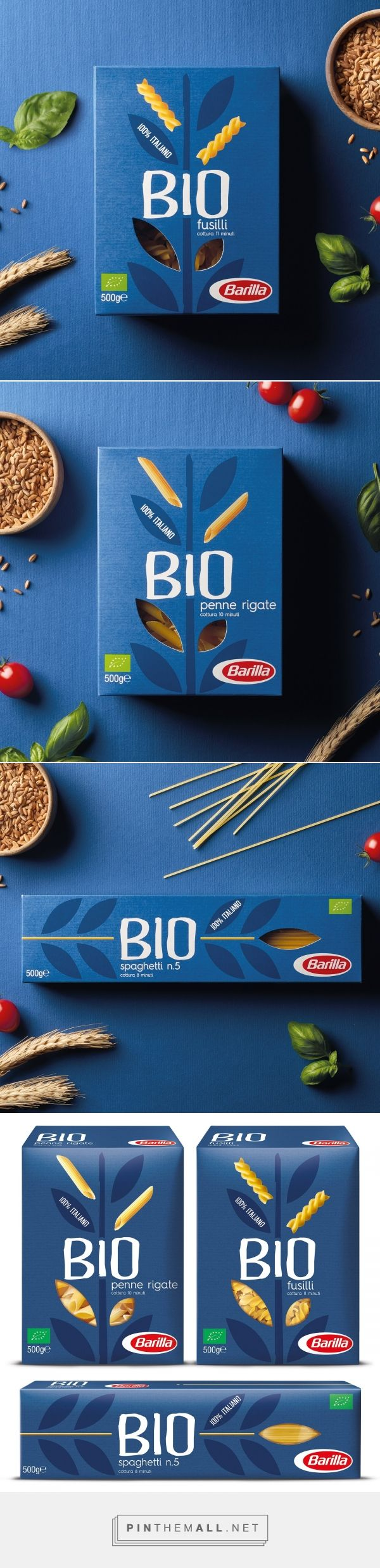 Barilla Bio - Packaging of the World - Creative Package Design Gallery - http://www.packagingoftheworld.com/2018/02/barilla-bio.html