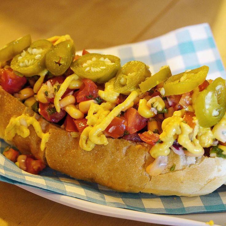 @52_wd for their #wddawgparty //  this one was their Mexi Dawg with extra Jalapeno gotta try this pretty looking thing