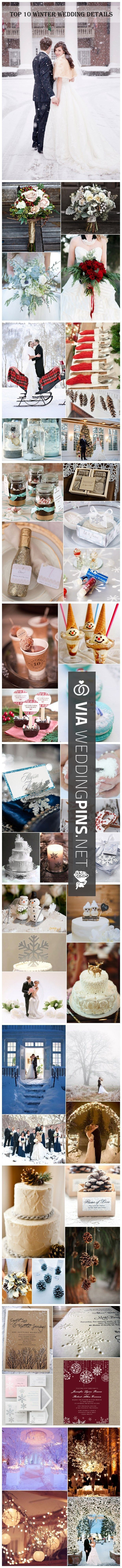 Cool! -  | CHECK OUT SOME AMAZING PHOTOS OF TASTY Christmas Weddings OVER AT…