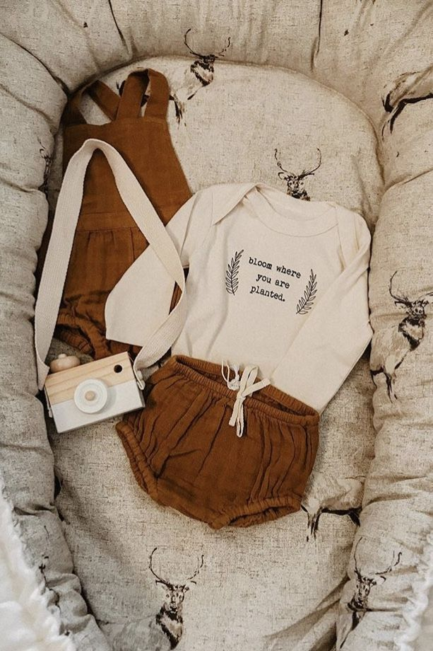 Bloom Where You Are Planted - Organic Bodysuit - Long Sleeve 2