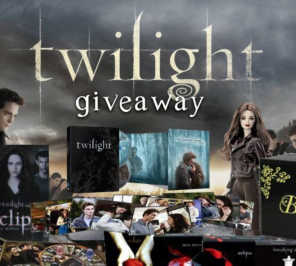 $500.00 value! Twilight Perfume, Twilight Audiobook Collection, Twilight 3 Board Game Collection, Complete Twilight DVD Collection, Twilight Collector's Barbie and Bella's Twilight Replica Jewelry Set.