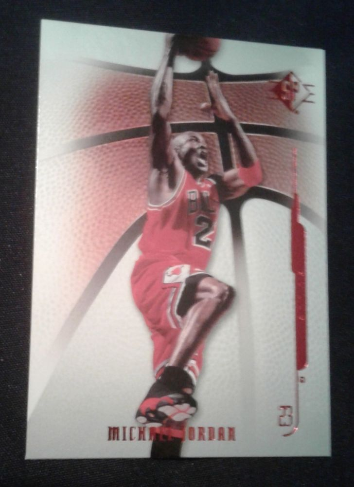 2008-09 SP MICHAEL JORDAN CARD # 29 #ChicagoBulls
