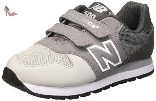 New Balance NBKV500YGP, Chaussures de Marche pour Bébé Bébes, Jaune (Grey), 30 1/2 EU - Chaussures new balance (*Partner-Link)