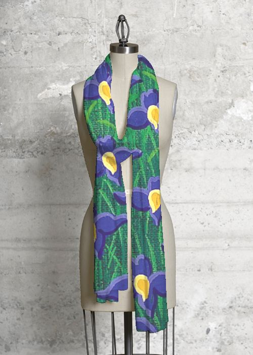 Silk Square Scarf - Industrial Green by VIDA VIDA Lyepg6l