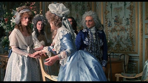 Has anyone else seen the film Jefferson in Paris by Merchant Ivory? It is one of the best representations of high society during that period that I have ever seen. The costumes are fantastic and the depiction of Louis and Marie Antoinette's Versailles is amazing and just how I imagine it to have been.