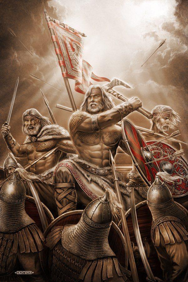 Slavic mythology by Igor Ozhiganov. The Slavic world series. Rus. Warriors Of The North