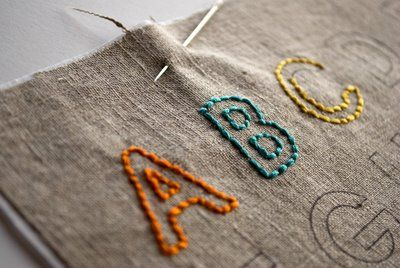 Using freezer paper and an inkjet printer to apply embroidery patterns directly to fabric.