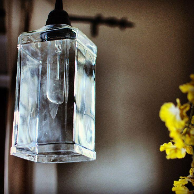 Repurposed Jack Daniel's Bottle Light Fixture by BottleHood