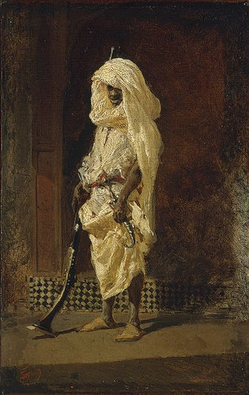 Morrocan Soldier by Mariano Fortuny i Marsal