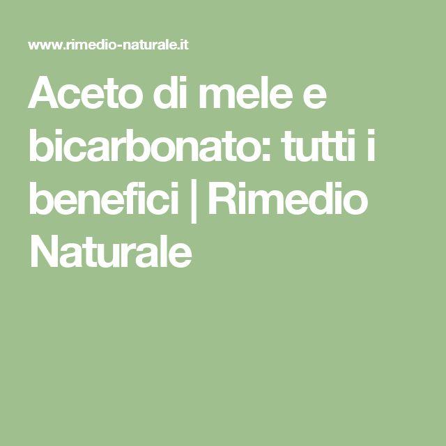 Aceto di mele e bicarbonato: tutti i benefici | Rimedio Naturale