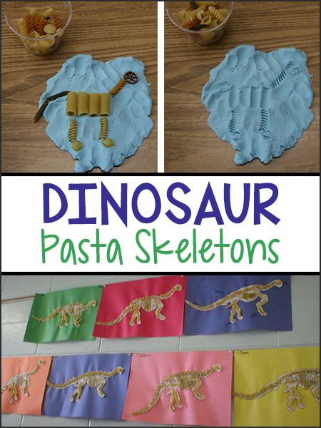 Dig for dinosaurs from the comfort of your home! Grab some playdough, pasta and paper and let the kids make the classics or invent their own!