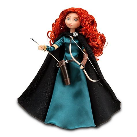 Classic Brave Merida Doll -- 11'' H  $16.50